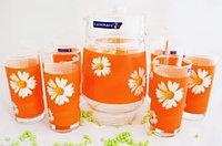 Графин со стаканами Luminarc Paquerette Melon (7 пр)