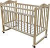 Детская кроватка Мой малыш 01 (светлая)
