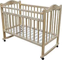 Детская кроватка Мой малыш 01 (светлая), фото 1