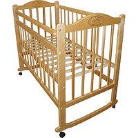 Детская кроватка Мой малыш 04 (светлая), фото 1