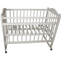Детская кроватка Мой малыш 04 белая, фото 1