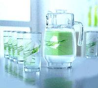 Графин со стаканами Luminarc Sofiane green (7 пр)