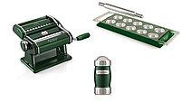 Набор Marcato Pasta Set Le Cadeau Verde лапшерезка ручная тестораскатка, планшет для равиоли, диспенсер
