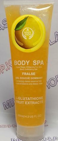 Скраб для тела Body SPA - Лимон