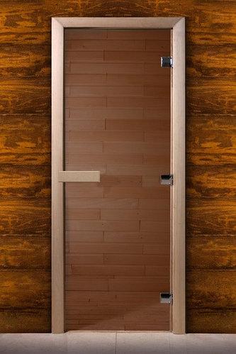 Дверь для сауны Maestro Woods 700*1900мм 3петли