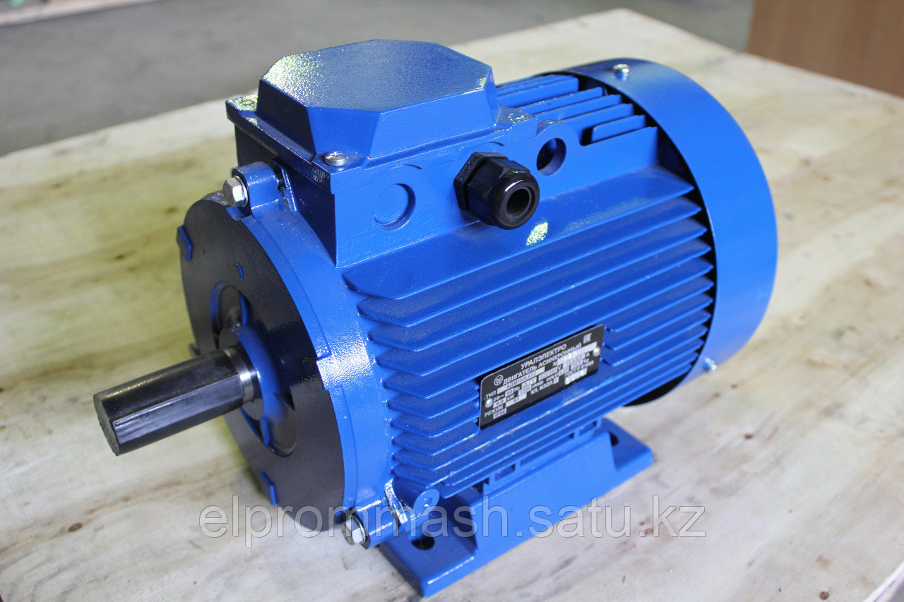 Электродвигатель АИР 100 S4 3кВт 1500об/мин