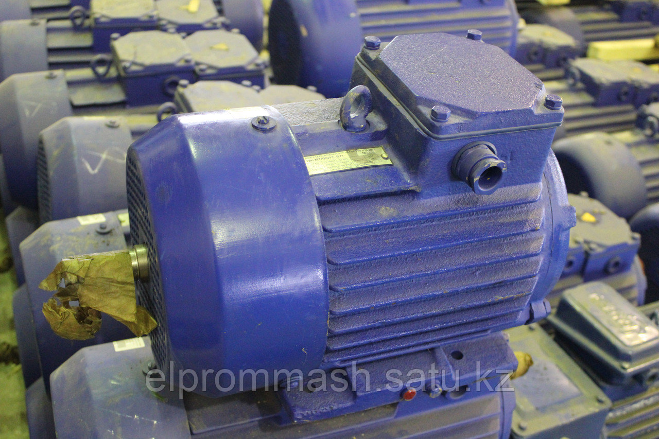 Электродвигатель крановый МТН 011-6 1.4кВт 890об/мин