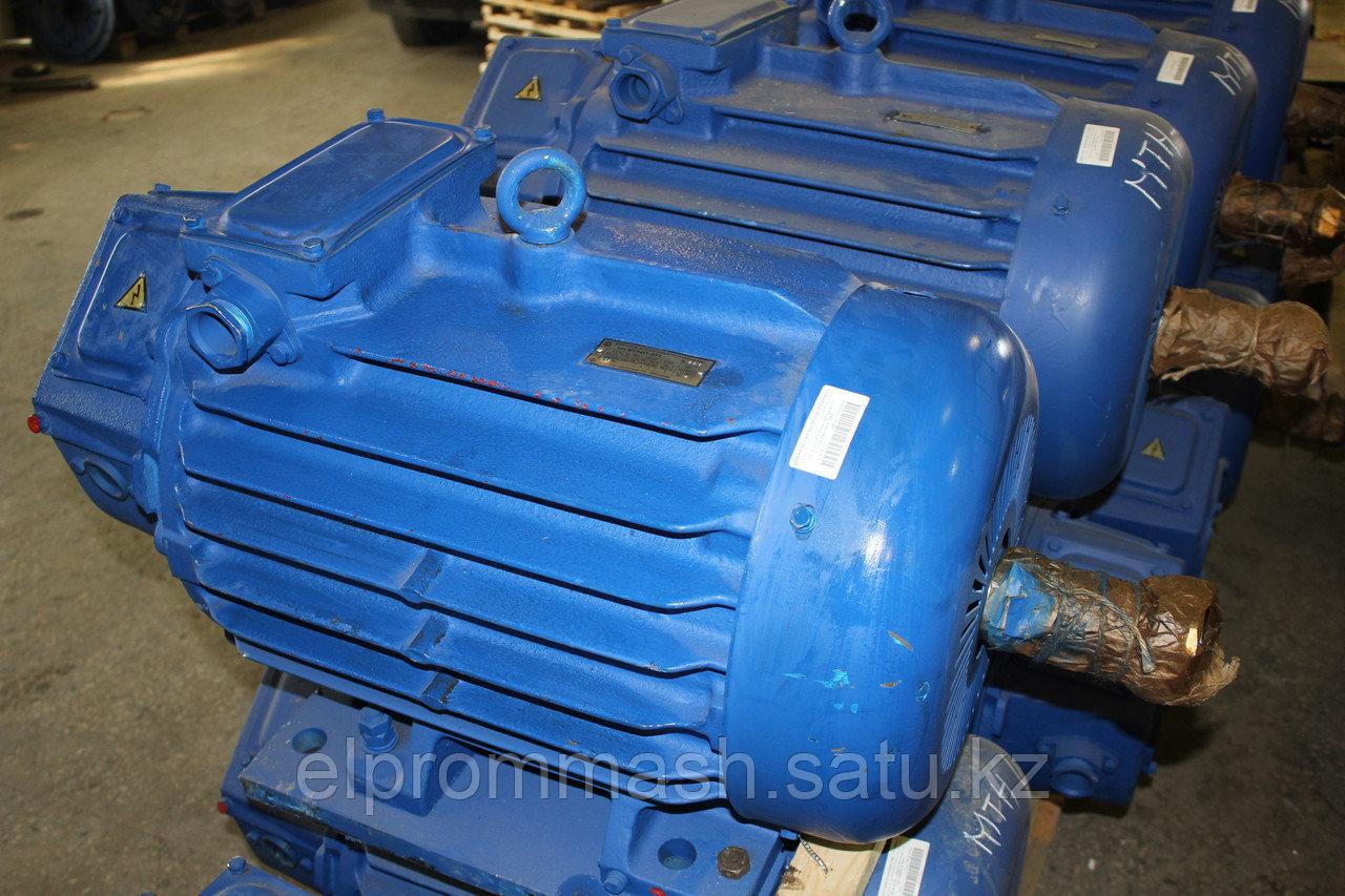 Электродвигатель крановый 4МТ 200LВ6 30кВт 960об/мин