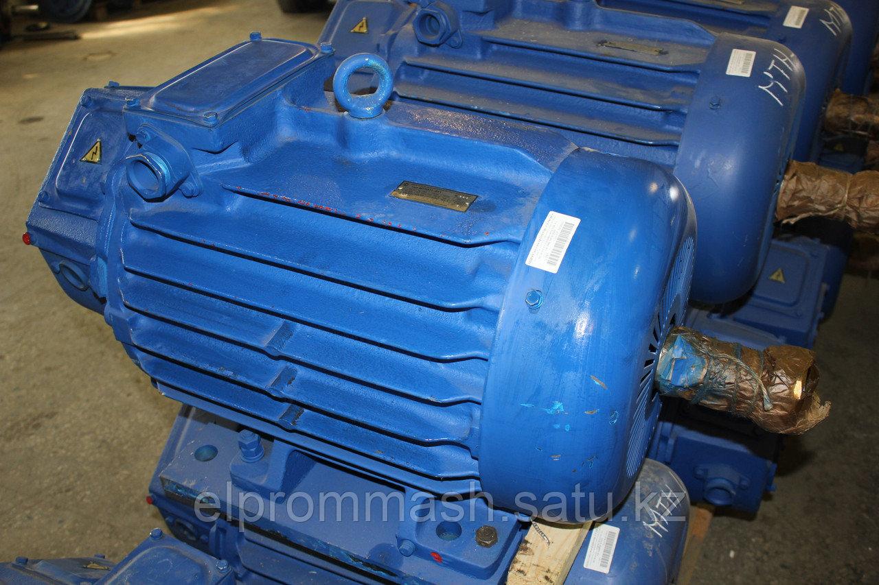 Электродвигатель крановый МТКН 411-6 22кВт 935об/мин