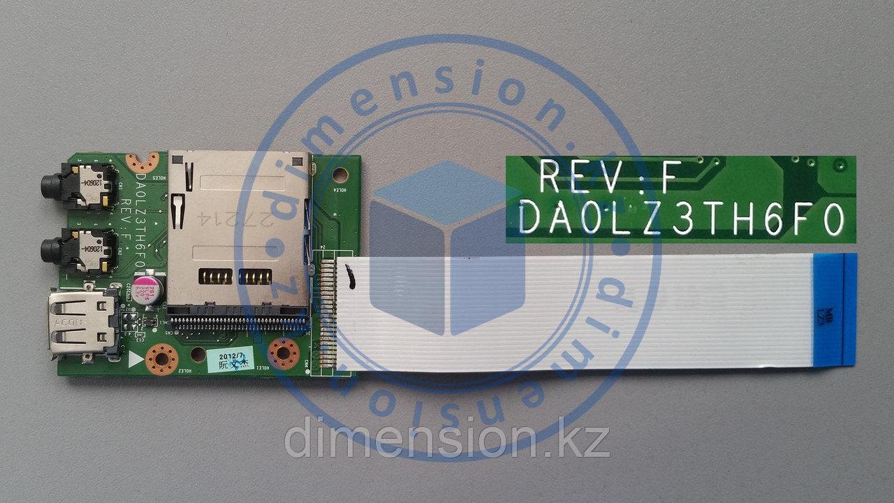 USB плата, порт, разъем DA0LZ4TH6F0 Rev. F на LENOVO ideapad Z580 Z585