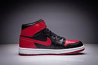 """Кожаные кроссовки Air Jordan 1 Retro """"Bred"""" (36-47), фото 4"""