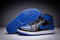 """Кожаные кроссовки Air Jordan 1 Retro """"Royal Blue"""" (36-47)"""