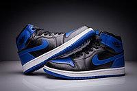 """Кожаные кроссовки Air Jordan 1 Retro """"Royal Blue"""" (36-47), фото 2"""