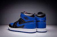 """Кожаные кроссовки Air Jordan 1 Retro """"Royal Blue"""" (36-47), фото 5"""