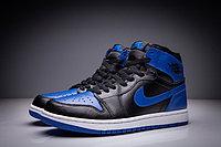 """Кожаные кроссовки Air Jordan 1 Retro """"Royal Blue"""" (36-47), фото 3"""
