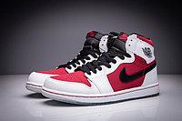 "Кожаные кроссовки Air Jordan 1 Retro ""Red/Black/White"" (36-47), фото 3"