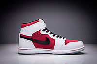 "Кожаные кроссовки Air Jordan 1 Retro ""Red/Black/White"" (36-47), фото 4"