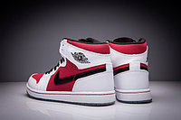 "Кожаные кроссовки Air Jordan 1 Retro ""Red/Black/White"" (36-47), фото 5"