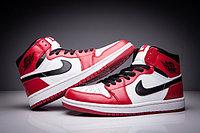 """Кожаные кроссовки Air Jordan 1 Retro """"Chicago Bulls"""" (36-47), фото 2"""