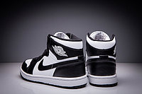 """Кожаные кроссовки Air Jordan 1 Retro """"Black White"""" (36-47), фото 5"""
