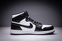 """Кожаные кроссовки Air Jordan 1 Retro """"Black White"""" (36-47), фото 4"""