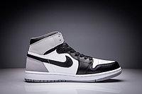 """Кожаные кроссовки Air Jordan 1 Retro """"Fragment Design"""" Black White Grey (36-47), фото 4"""