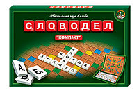«Словодел Компакт», настольная игра, фото 1