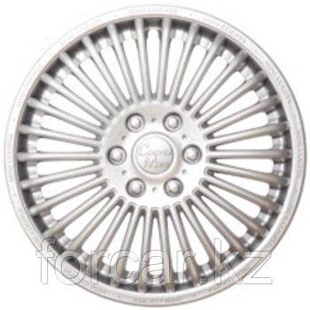 Колпак колесный 14 МИНИ-КУПЕР серебристый (4 шт.)