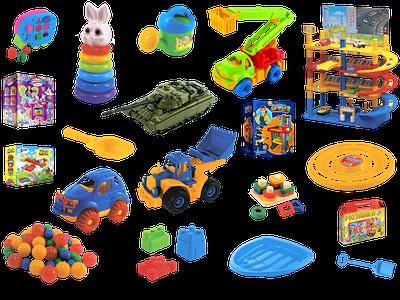 Российские игрушки 1 год+