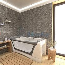 Акриловая  прямоугольная ванна  Дольче Вита 170*75 см. 1 Марка. Россия (Ванна + каркас +ножки), фото 3