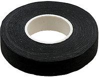 Изолента ЗУБР на хлопчатобумажной основе, чёрная, 18мм х 15м