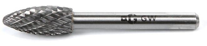 Борфреза  форма H  диаметр головки 16мм