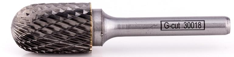 Борфреза форма C цилиндр со сферическим концом, диаметр головки 16мм
