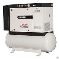 Винтовой компрессор CS 140 D (ресивер 500 литров), фото 1