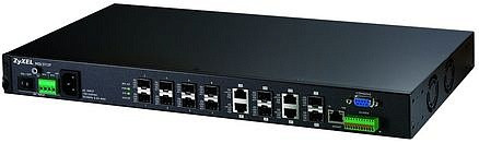 Zyxel MGS-3712F управляемый коммутатор 12-port L2+ Metro Gigabit Ethernet с 12 SFP-слотами(4 совм с RJ-45)