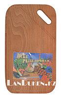 Разделочная деревянная доска 21,7 *35 см (кухонная доска)