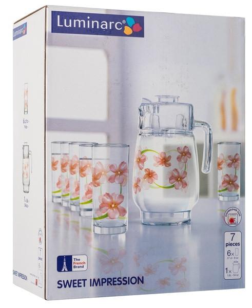 Графин со стаканами Luminarc Sweet Impression(7 пр)