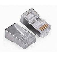 """Коннектор """"Connector Screened(экранированный,металлический) AMP RJ-45  кор-1000шт"""""""