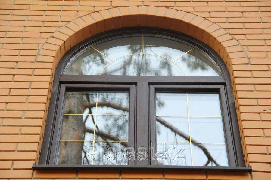 Арочные окна (металлопластиковые, пластиковые, ПВХ) - фото 3