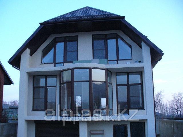 Косоугольные окна (трапецевидные, треугольные) (металлопластиковые, пластиковые, окна ПВХ) - фото 2