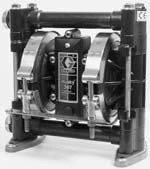 Пластиковый мембранный (диафрагменный) насос GRACO серия Husky 307