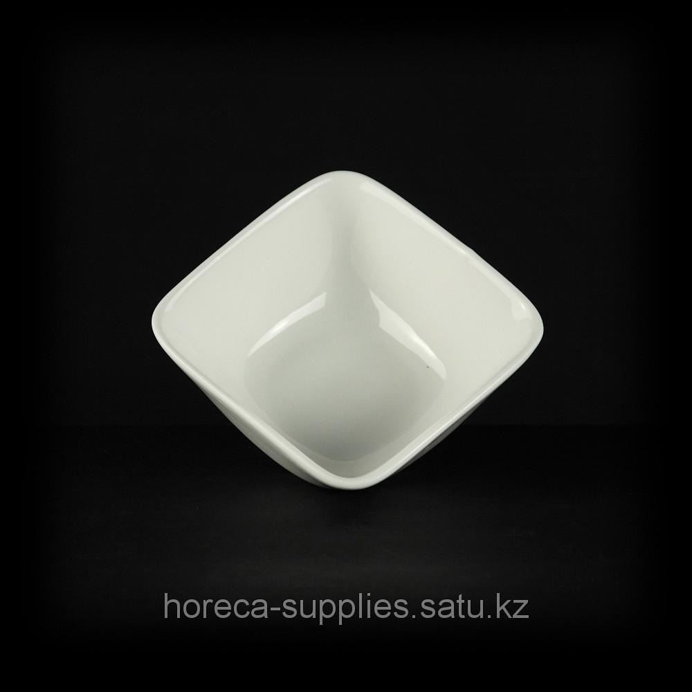 Салатник квадратный «Chan Wave» 115 мм [ivory LQ-QB0046А] Артикул: фк0203