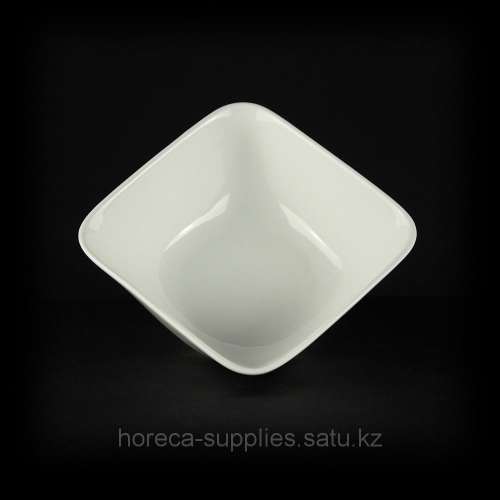 Салатник квадратный «Chan Wave» 600 мл [ivory LQ-QB0046B]