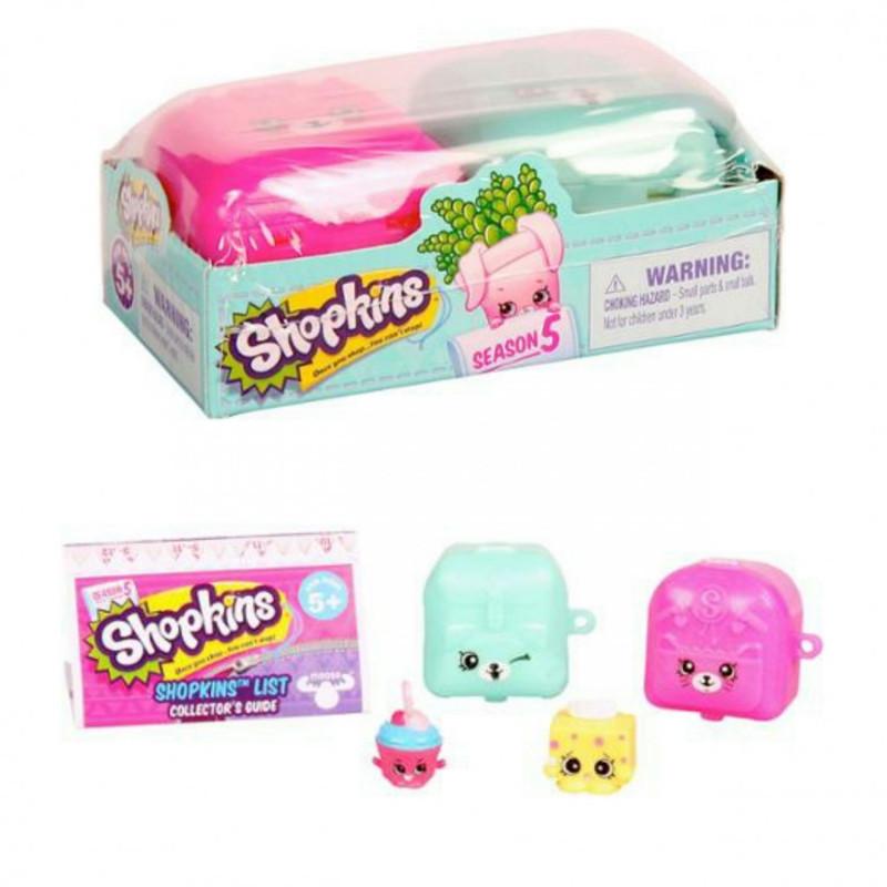 Shopkins, Шопкинс (5 сезон) 2 игрушки в упаковке