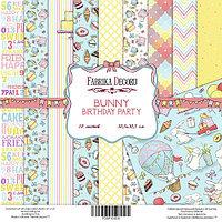 Набор Бумаги Bunny Bithday Party