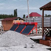 Солнечный водонагрев бассейна, Алматинская обл. 2