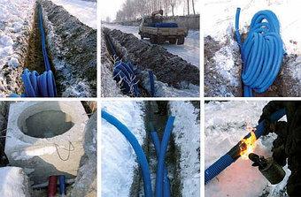 Прокладка кабеля в Зимний сезон