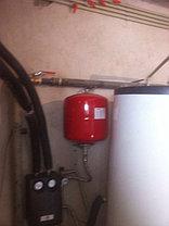 Солнечная водонагревательная система 5 плоских коллекторов, 500л бивалентный бак 13