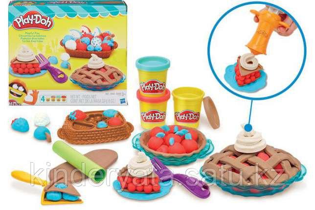 """Плей До Игровой набор пластилина """"Ягодные тарталетки"""" Play-Doh"""