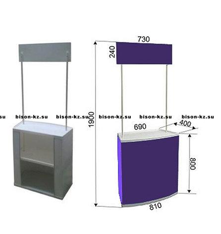 Промо стол прямоугольный, фото 2